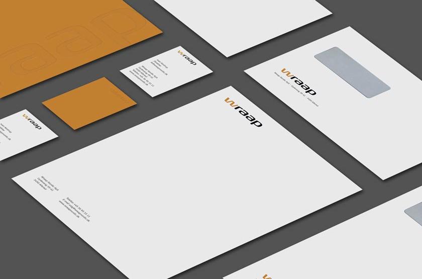 Wraap Nordic. Logo design og identitet.